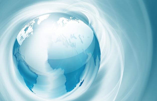행성과 추상 기술 배경