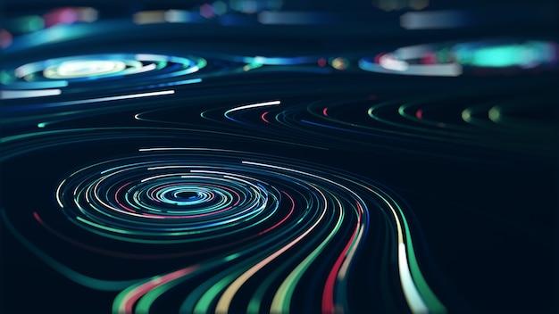 Абстрактная технология больших данных концепции.