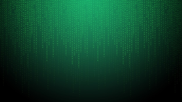 Abstract technology binary code backgrounddigital binary data and secure data concept