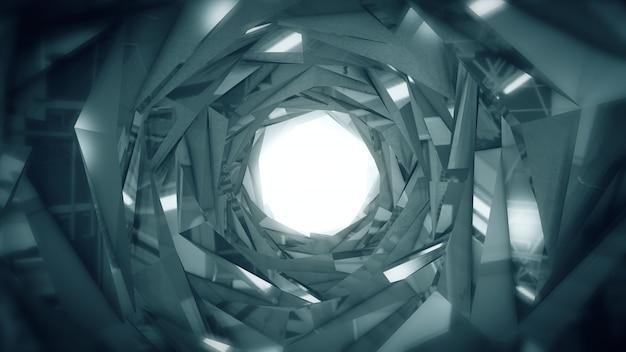 추상 기술 터널