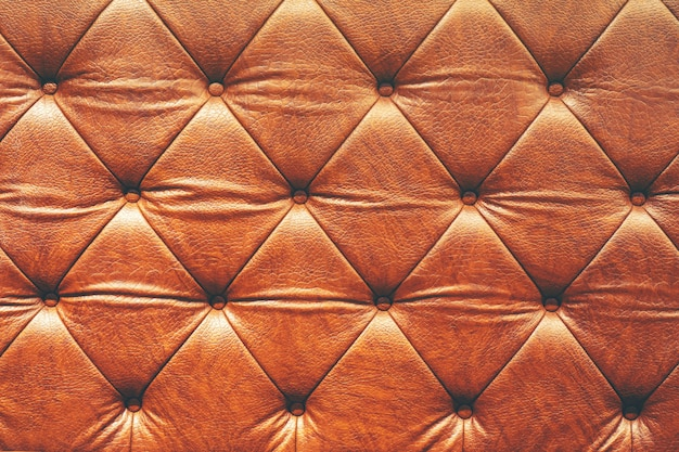 Abstract texture background of luxury leather sofa