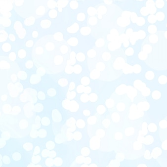 Abstract texture of bokeh christmas lights in blue