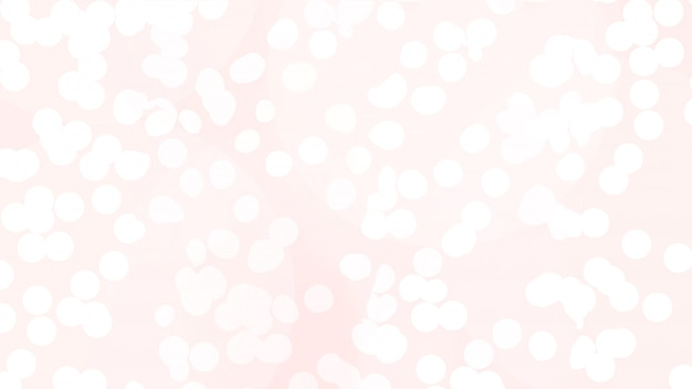 Abstract texture of bokeh christmas lights in rose
