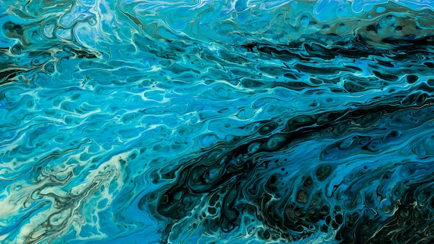 Abstract texture of liquid acrylic art. part of image.