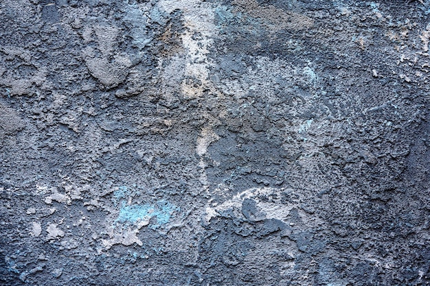 퍼티로 덮여 표면의 추상 질감. 그레인 및 노이즈 효과. 퍼티로 덮여 벽 배경입니다.