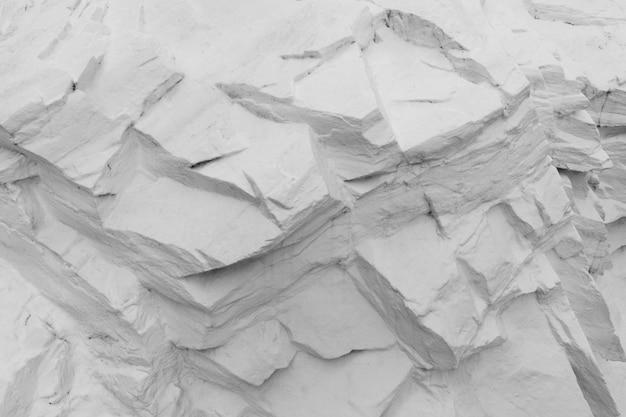 흰색으로 칠한 돌의 추상 질감
