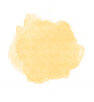 Abstract textured soft yellow gold watercolor well use as background