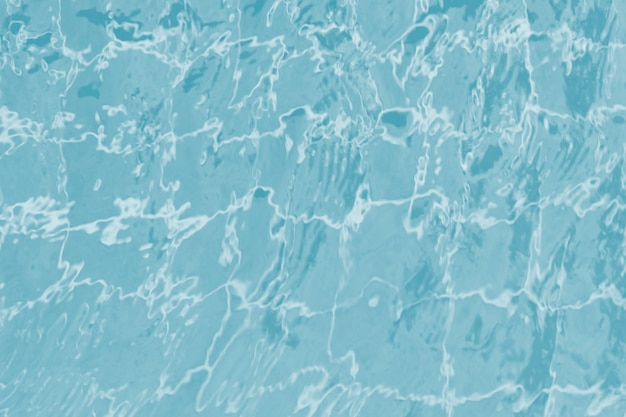 スイミングプールの抽象的なタイルパターン