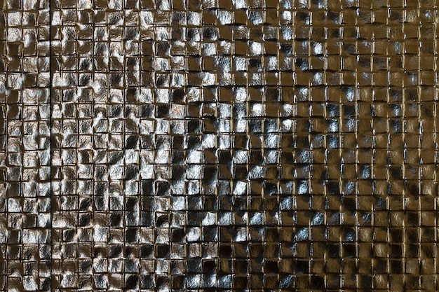 Abstract tiled ceramic wall texture background