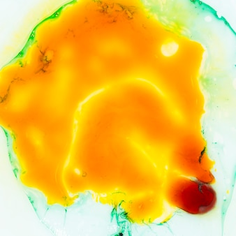 Abstract top view of egg yolk