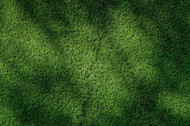 Абстрактный вид сверху зеленый цвет текстуры искусственной травы