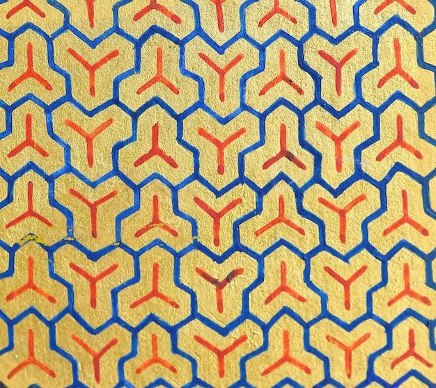抽象的な伝統的な中国のパターンの背景