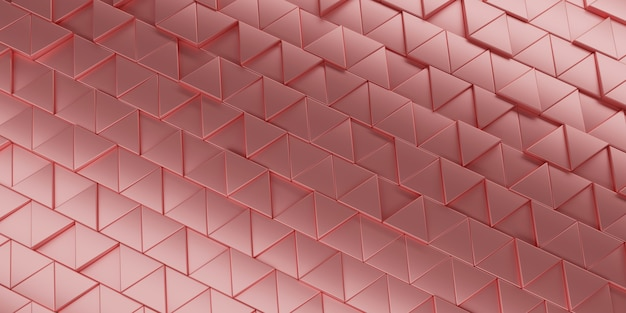 Abstract triangle background 3d rendering.