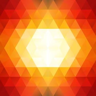 Абстрактный фон модель треугольников. фиолетовая мозаика, иллюстрация