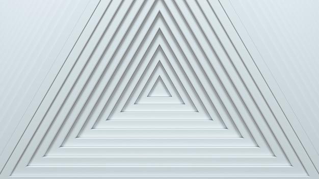 Абстрактные треугольники с эффектом смещения