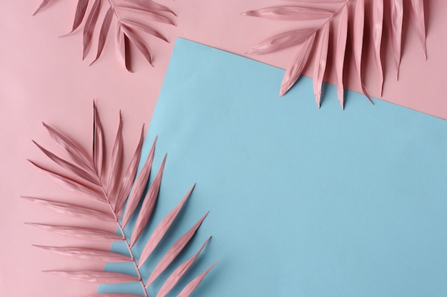 Abstract tropical background