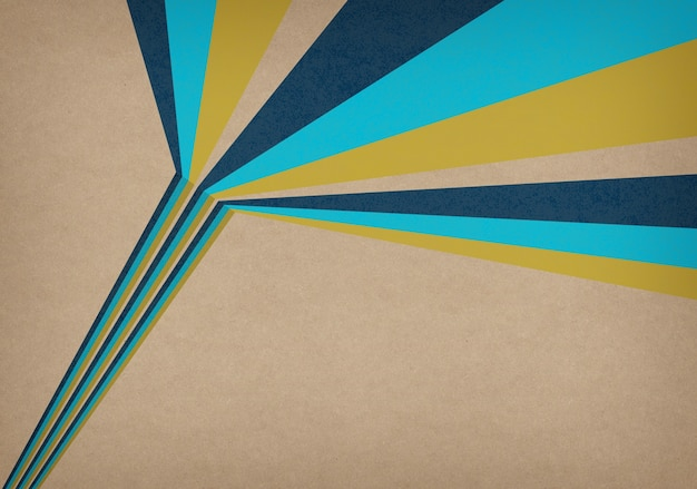 Abstract vintage background with stripes