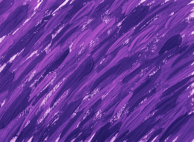 Abstract violet brush strokes background