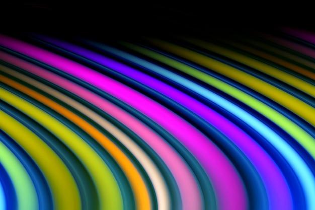 추상 생생한 여러 가지 빛깔 된 기울어 진 선 그림입니다.