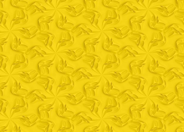 抽象的なボリュームテクスチャ3dイラスト
