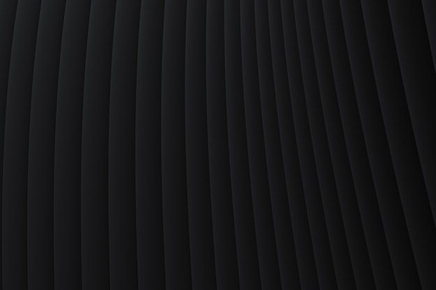 Abstract wall wave architecture black background details