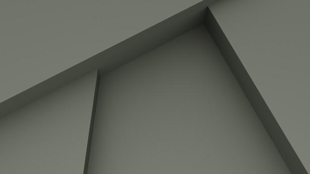 회색 콘크리트 재료로 추상 벽