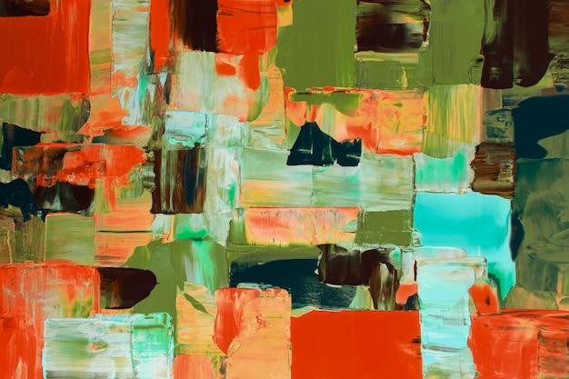 추상적 인 벽지 배경, 혼합 색상 아크릴 페인트 질감