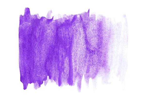 Абстрактное искусство акварели ручная краска на изолированной белой предпосылке. акварельный фон.