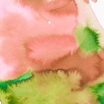 キャンバスの紙の質感と抽象的な水彩画の背景