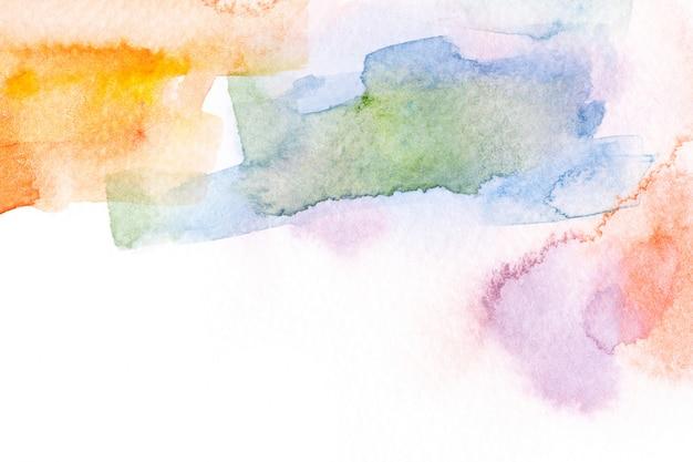 抽象的な水彩ブラシストロークの背景。
