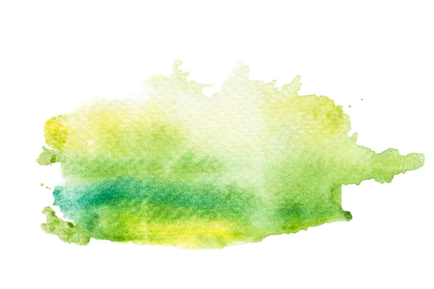 Abstract watercolor brush stroke background.