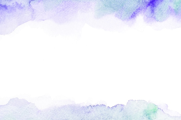 Abstract watercolor card