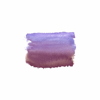 Abstract watercolor hand drawn colorful stain. watercolor design element. watercolor purple, violet and brown background.