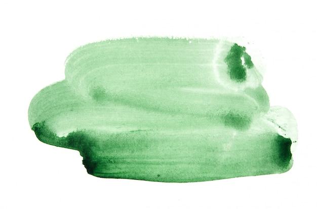分離された抽象的な水彩ハンドペイントテクスチャ背景