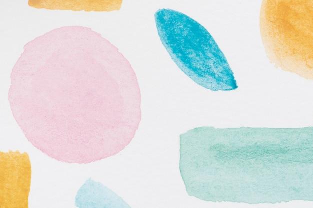 紙のテクスチャに抽象的な水彩画