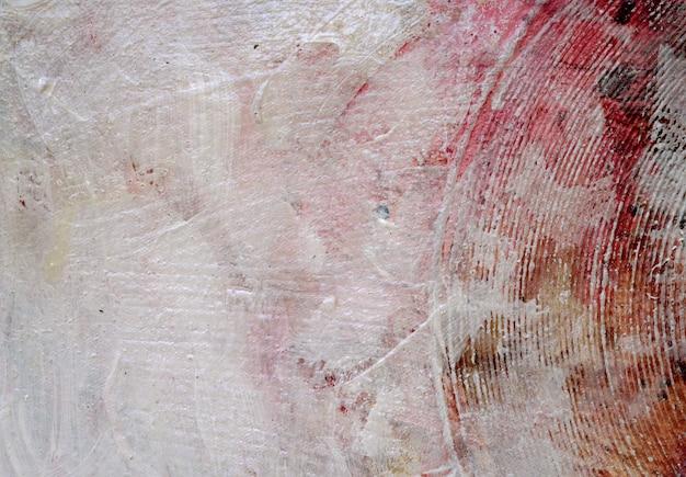 キャンバス上の抽象的な水彩絵の具のテクスチャ背景。