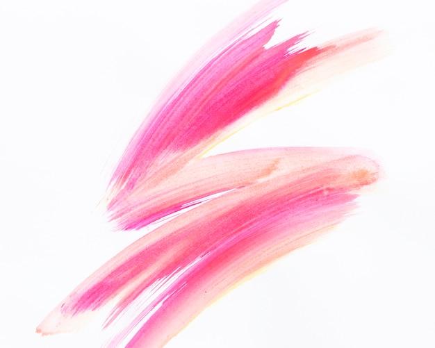 抽象的な水彩画の形