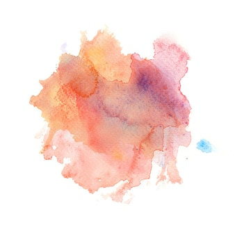 Abstract watercolor splash background.