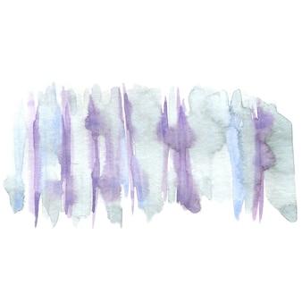 抽象的な水彩画のストローク