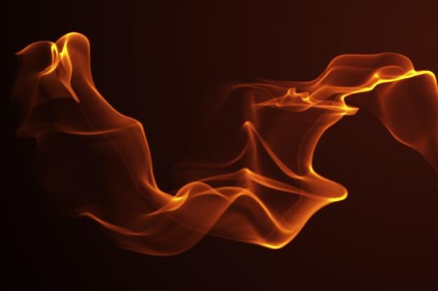 Абстрактная волна золотой фон формы