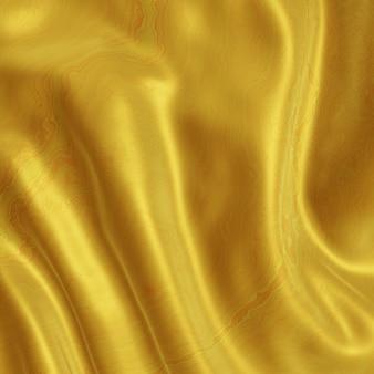 抽象的な波状の金の表面
