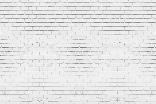 Abstract weathered texture stained old stucco light gray. white brick wall background in rural room.