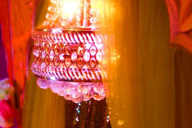 Abstract wedding lighting background