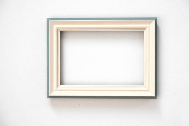 Abstract white background for design with frame. view from above.