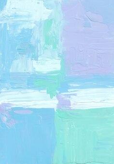 Абстрактный белый, синий и зеленый пастельный фон