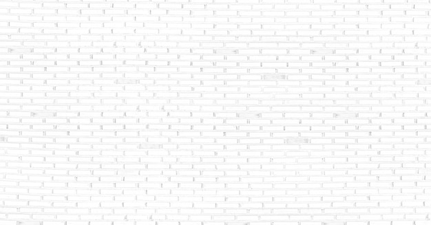 Abstract white brick wall texture background