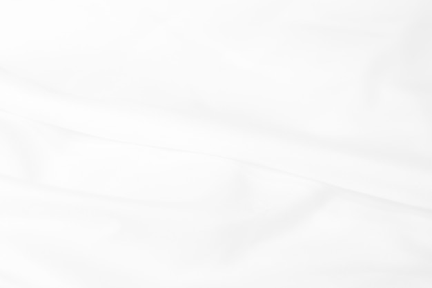Abstract white cloth background with soft waves.  abstract background.