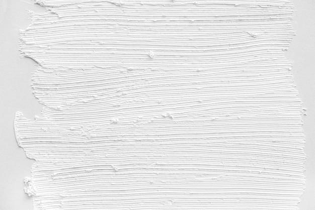 Struttura astratta di colore bianco