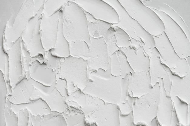 추상 흰색 그리기 흙 손 스트로크 배경