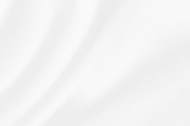 抽象的な白い布の布テクスチャ背景をぼかし